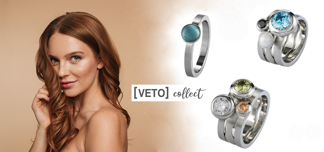 Veto Collect Ringe